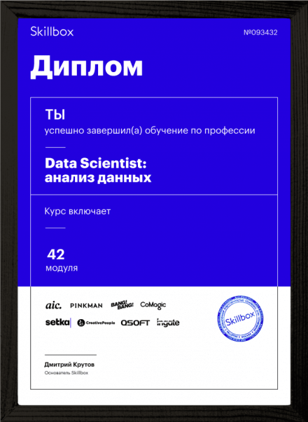 Диплом Профессия Data Scientist: анализ данных